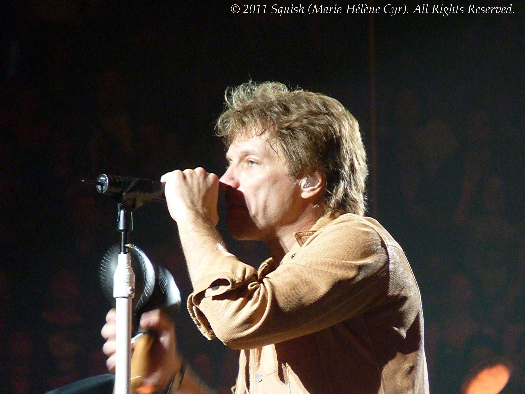 Bon Jovi - Centre Bell, Québec, Canada (18 février 2011)